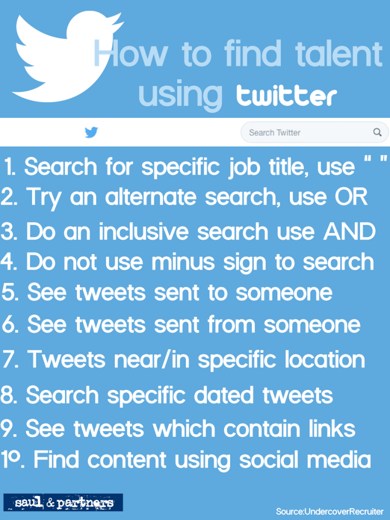 How to find talent using twitter